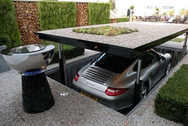 Safety Underground Garage